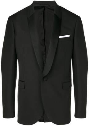 Neil Barrett Tuxedo single-breasted blazer