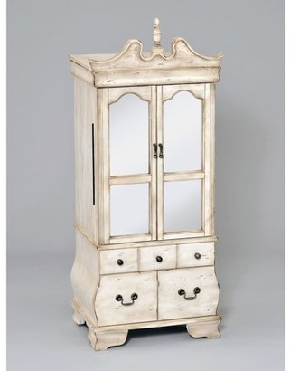 ACME Furniture ACME Otis Jewelry Armoire, Antique White
