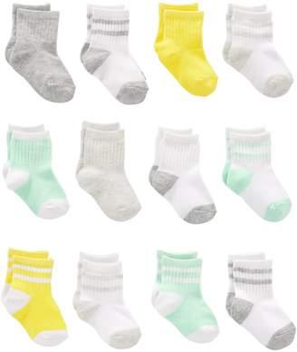 Carter's Simple Joys by Baby 12-Pack Socks