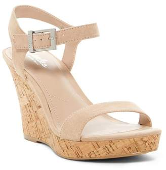 Charles by Charles David Lindy Faux Suede Wedge Sandal