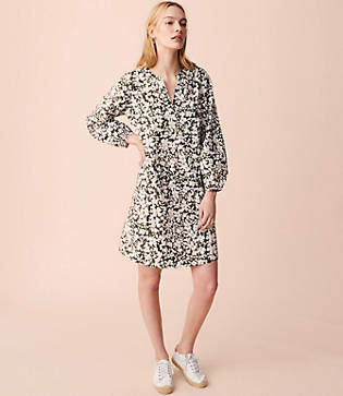 Lou & Grey Floriculture Poet Pop On Shirtdress