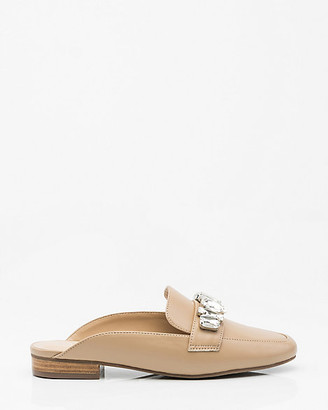 Le Château Jewelled Loafer Mule