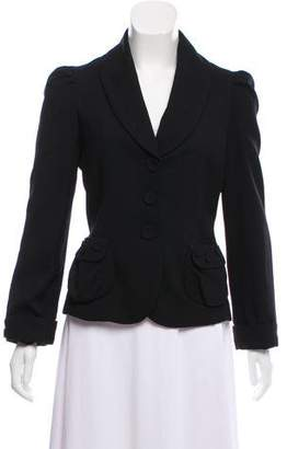 Marc by Marc Jacobs Wool Shawl-Lapel Blazer