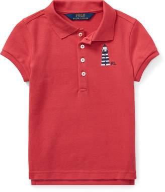 Ralph Lauren Lighthouse Mesh Polo Shirt