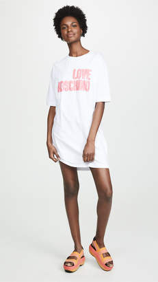 Moschino Love Oversize T-Shirt Dress