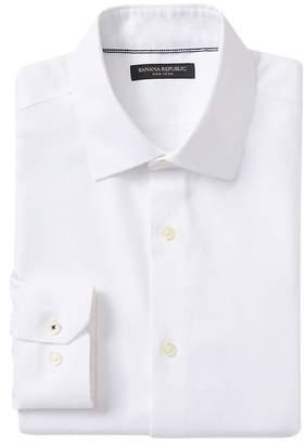 Banana Republic Camden Standard-Fit Non-Iron Birdseye Dress Shirt