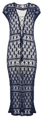 Anna Kosturova Aerin crochet maxi dress
