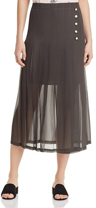 The Kooples Pleated Midi Skirt - 100% Exclusive $265 thestylecure.com
