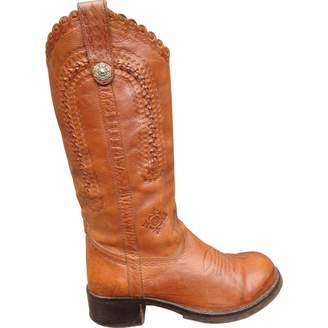 Ash Leather Riding Boots