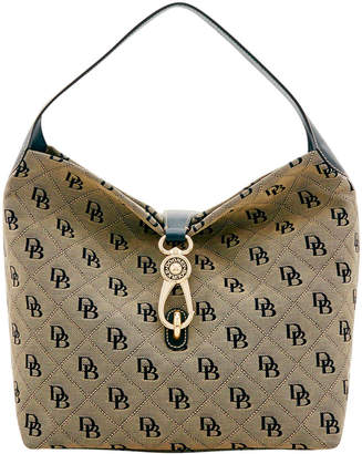 Dooney & Bourke Maxi Quilt Logo Lock Sac