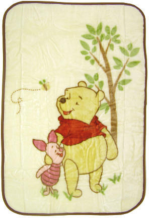 Disney Dreams of Hunny Luxury Plush Throw Blanket