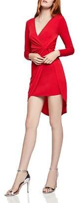 BCBGeneration Twist-Front Crossover Dress
