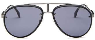 Carrera Women's Glory Brow Bar Aviator Sunglasses, 58mm