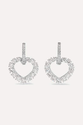 Chopard L'heure Du Diamant 18-karat White Gold Diamond Earrings