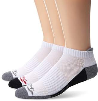 Saucony Men's 3 Pack Classic Runner No-Show Socks