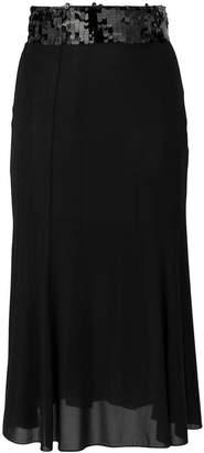Dolce & Gabbana sequinned waisted skirt