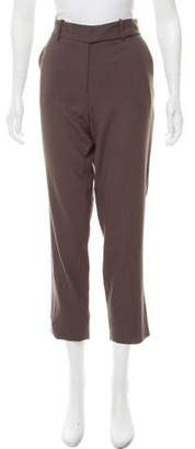 Halston Tailored Mid-Rise Pants