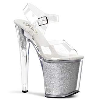 Pleaser USA Women's Xtreme-808SG Platform Sandal