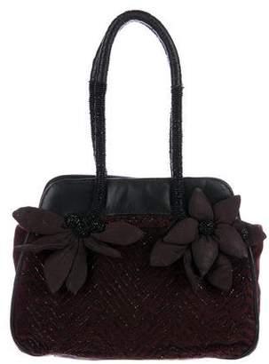 Antik Batik Embroidered Handle Bag