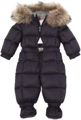 Moncler New Jean Nylon Baby Bunting