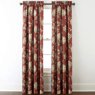 Home ExpressionsTM Isabelli Faux Silk Rod-Pocket Curtain Panel