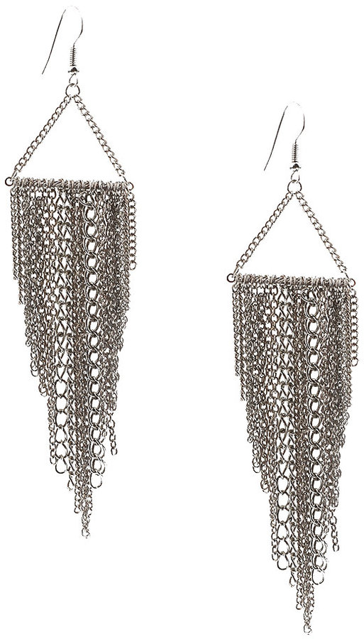 Chained Swing Earrings