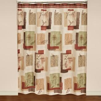 Saturday Knight Ltd. Saturday Knight, Ltd. Inspire Shower Curtain