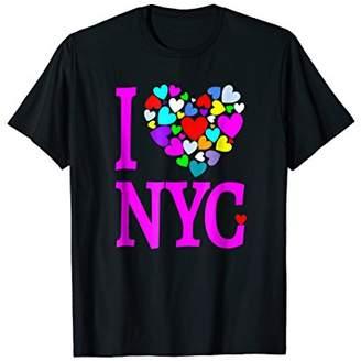 I Love NYC T Shirt Heart Design New York City T Shirt