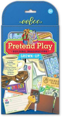 Eeboo Grownup Pretend Play Set