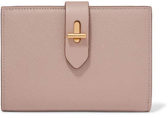 Tom Ford Textured-leather Wallet - Taupe