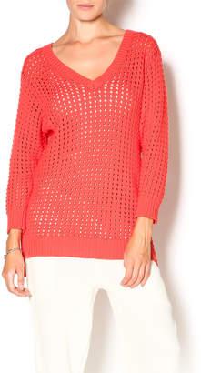 Funsport Melon Cotton Sweater