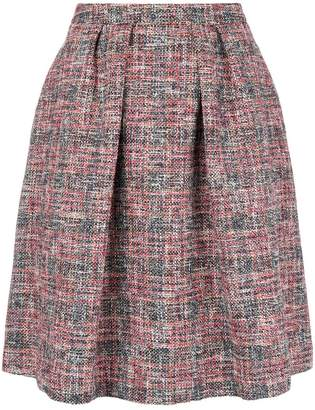 Paul Smith flared tweed skirt