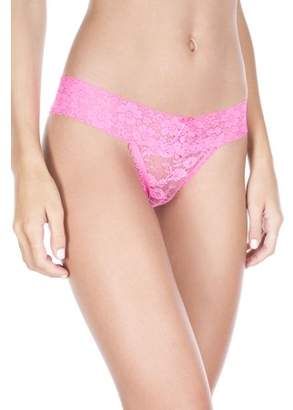 Musiclegs All over lace panty 10014-NEON PINK-S/M