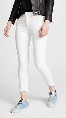 A Gold E AGOLDE Sophie Crop Skinny Jeans
