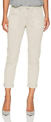 NYDJ Women's Petite Size Relaxed Chino Twill Pants