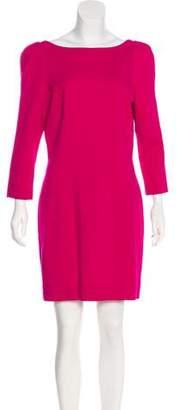 Diane von Furstenberg Long Sleeve Knit Dress