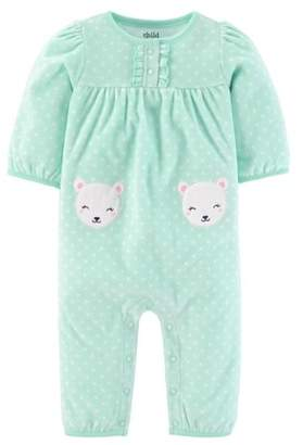 Carter's Child of Mine by Newborn Baby Girl Longsleeve One Piece Playwear Outfit