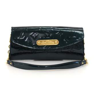 Louis Vuitton Green Patent leather Clutch bags