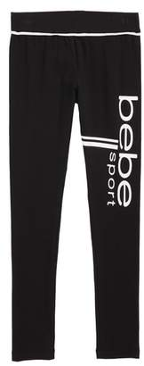 Bebe Double Stripe Sport Leggings