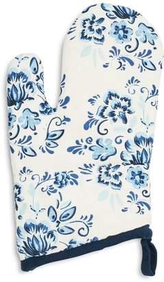 Sur La Table Floral Tile Oven Mitt