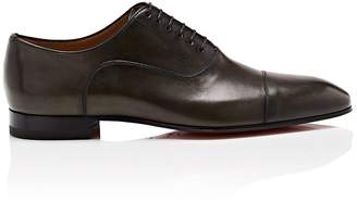 Christian Louboutin Men's Greggo Flat Leather Balmorals