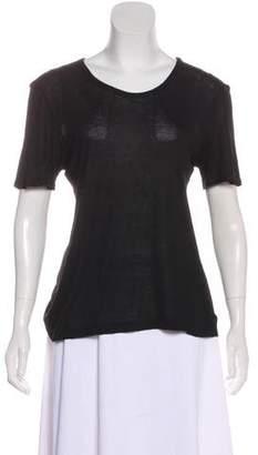 The Row Short Sleeve Knit Top