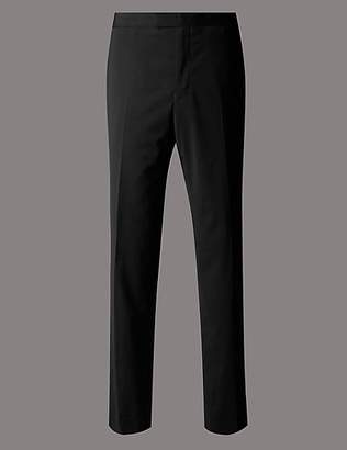 Autograph Big & Tall Black Tailored Trousers
