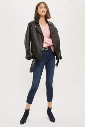 Topshop Petite Rich Indigo Jamie Jeans