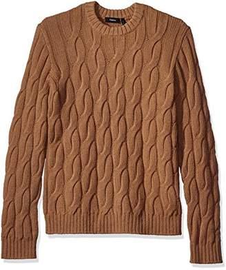 Theory Men's Rockson Camellos Crew Neck Sweater