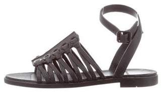 Givenchy Embossed Rubber Sandals