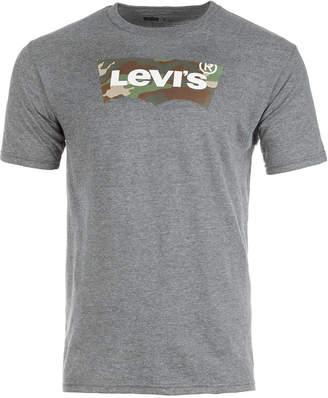 Levi's Men's Camo Batwing Logo-Print T-Shirt
