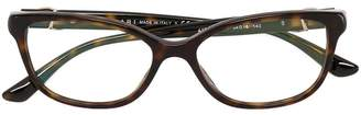 Bulgari tortoiseshell effect glasses