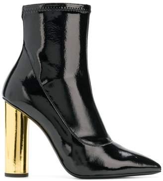 Giuseppe Zanotti Design contrast heel ankle boots