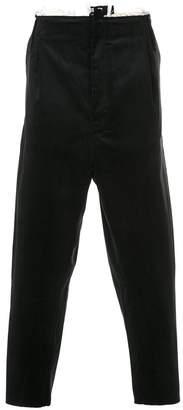Camiel Fortgens drop-crotch trousers